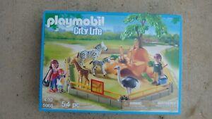 Details about Playmobil 5968 Zoo series animals Zebra mini diorama New in  Box Geobra