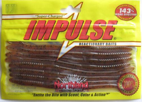 "Natural Fleck Northland Tackle  IMPULSE® NIGHTCRAWLER 6/"""