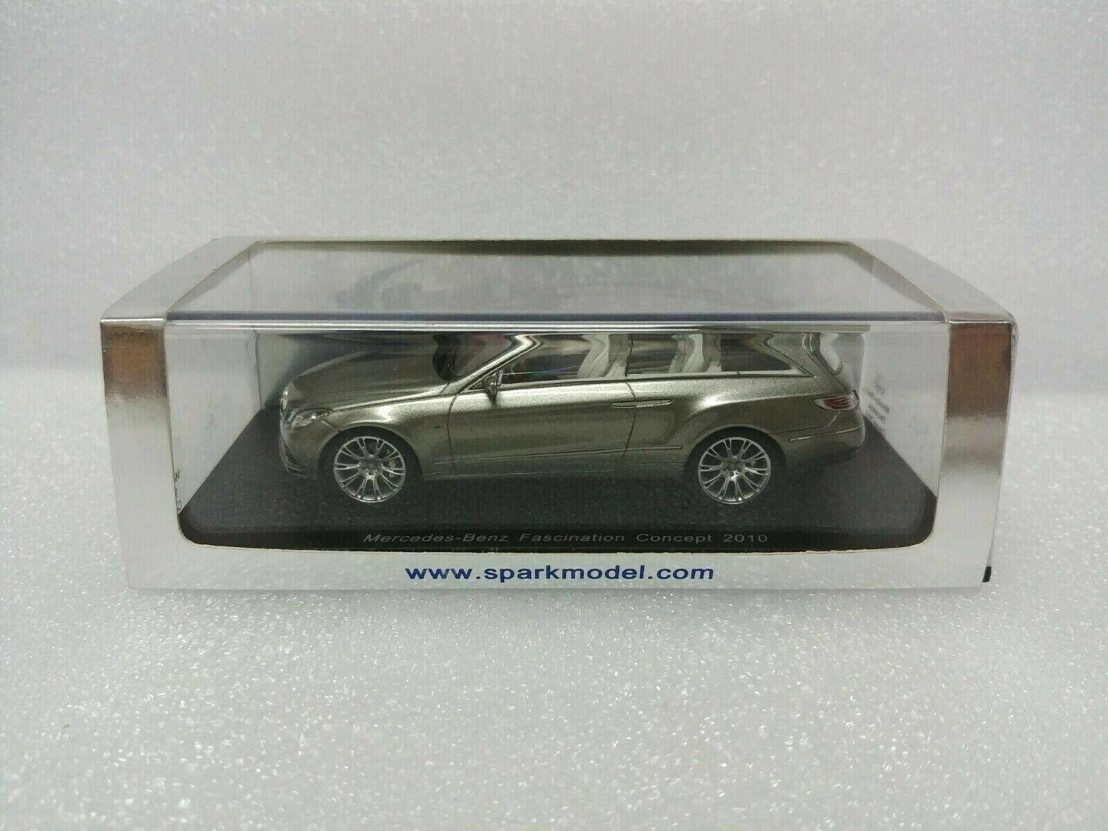 los nuevos estilos calientes Mercedes-Benz fascinación concepto 2010 Spark MODEL 1 1 1 43  S1057  mejor precio