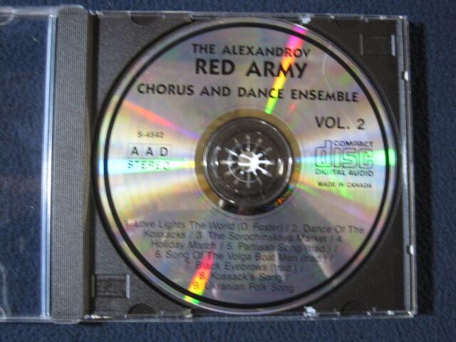 Alexandrov RED ARMY Chorus and Dance Ensemble VOL 2 [Auido CD]
