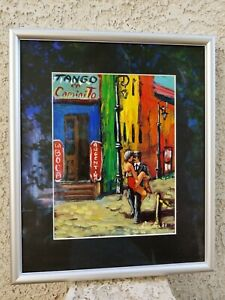 Hector-Dario-Cauda-Original-Painting-Art-from-La-Boca-Argentina-Bar-La-Perla
