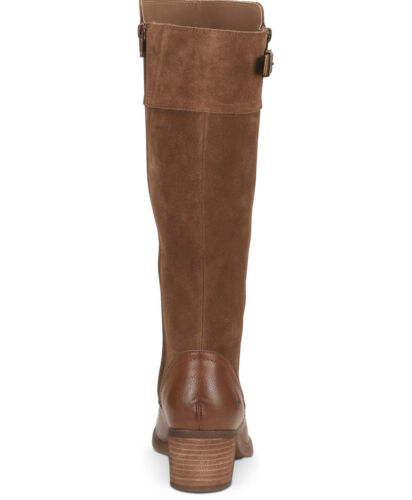 Details about  /B.O.C Women/'s Shoes Austell Suede Almond Toe Knee High Fashion Boots Brown