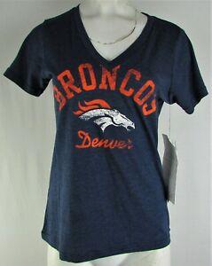 Denver-Broncos-NFL-Team-Apparel-Women-039-s-3-4-Sleeve-V-Neck-Shirt