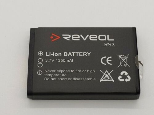 Reveal RS3 3.7V 1350 mAh batería 7.2Wh FHD 1296P HD66 cámara de cuerpo policial Usado