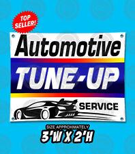 2x3 Automotive Tune Up Service Repair Outdoor Indoor Wall Banner Open Sign Shop