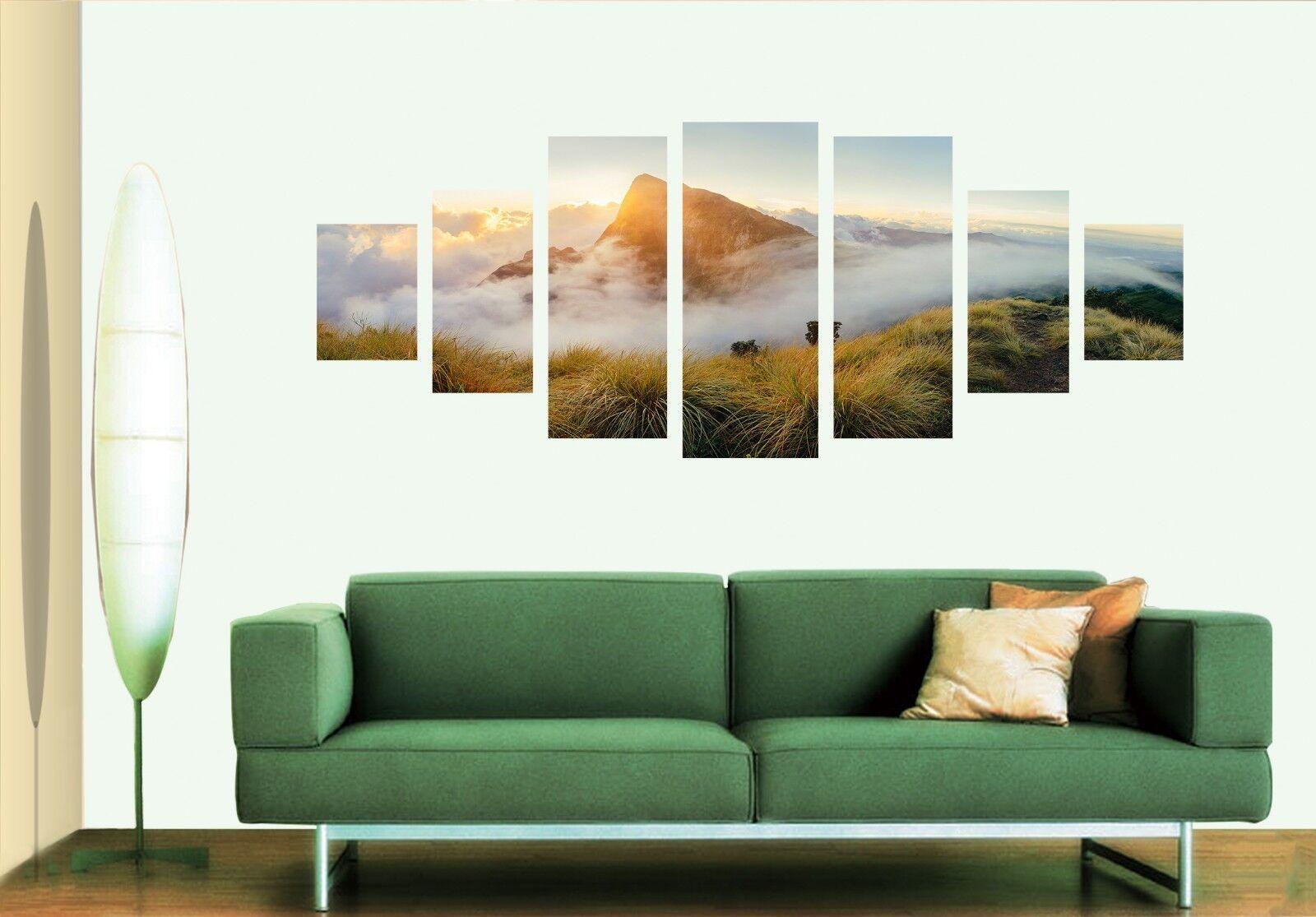3D Sunlight Peak 677 Unframed Print Wall Paper Decal Wall Deco Indoor AJ Wall