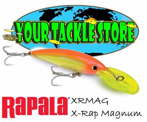 Rapala XRMAG 40 X-Rap Magnum Pick colors /& quantité NEUF sous emballage XR Arts Martiaux Gear