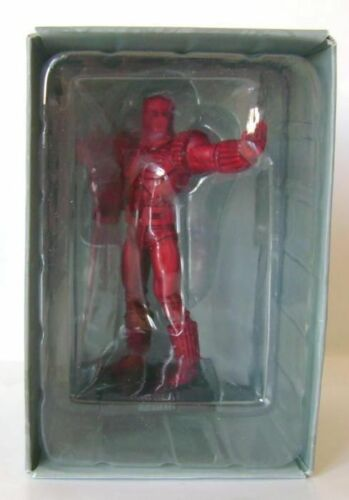 Eaglemoss Supereroi Marvel Iron Man CRIMSON DYNAMO Statuina Piombo MIB, 2011