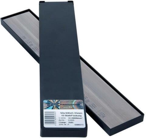 S innovantes marque métal H S Métal diapositives plattenware 50x300x0,50mm 10bl//p H