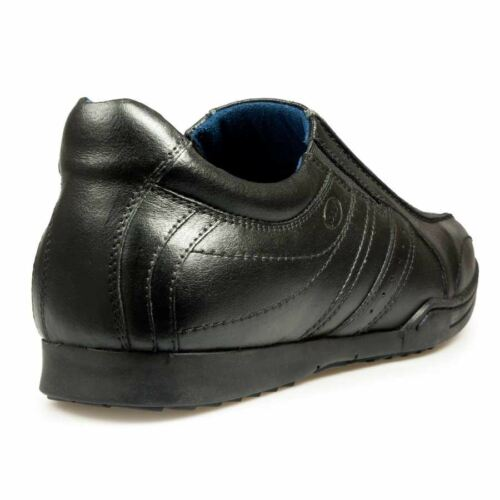 Mens Pod In Black School work Percy Shoes B00UP