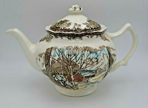 Vintage-Johnson-Brothers-Friendly-Village-Pattern-Teapot-Made-in-England-4740188