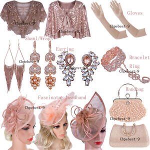 Rose Gold Prom Dresses Accessories Evening Gowns Headband Womens