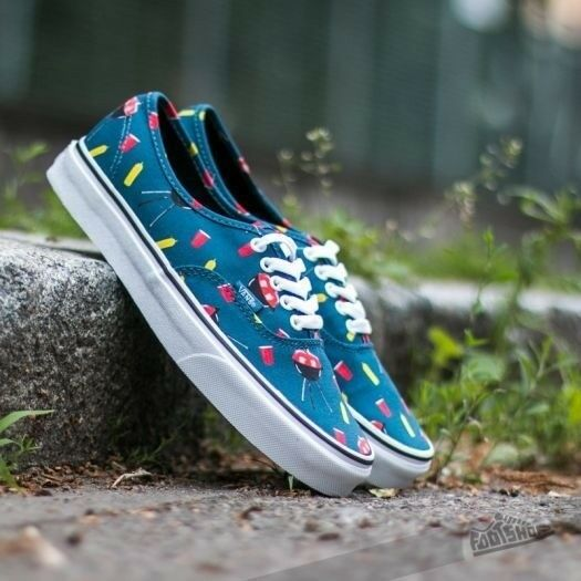 vans authentic flamingo