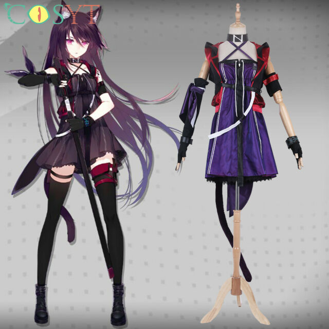 Overlord Narberal Gamma Women/'s Cosplay Costume COS Fancy Dress Custom Made