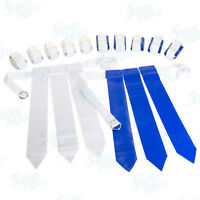 Flag Football Set - 12 Belts + 36 Flags (18 Blue Flags & 18 White Flags)
