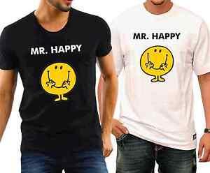 Mr Happy Tshirt cotton