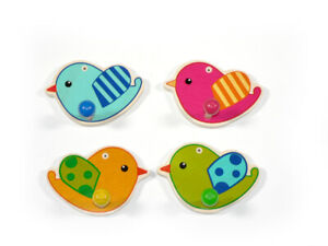 Small-Wardrobes-Birds-120-x-80-x-60-New-Children-039-s-Colourful-Wood