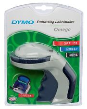New Dymo Embossing Home Label Maker Omega 9mm Embossing Tape 3D Label Refills