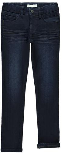 NAME IT Jungen Slim Jeans Nkmsilas Dnmcart 13180040 weich elastisch Dunkelblau