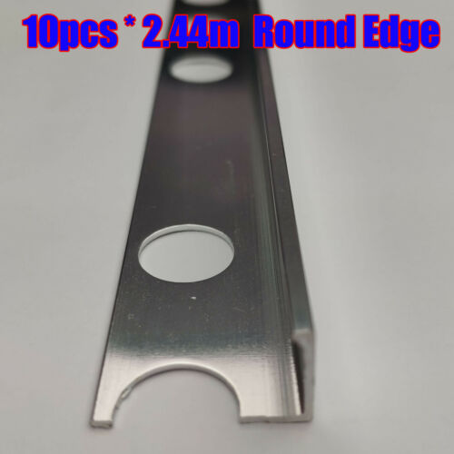 10X2.4 ROUNDED L SHAPE STAIR NOSING EDGE TRIM STEP NOSE EDGING NOSINGS FOR TILES