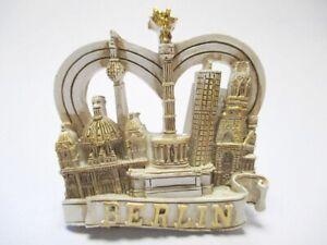 Berlin-Siegessaeule-Dom-Cologne-3D-Poly-Fridge-Magnet-Souvenir-Germany