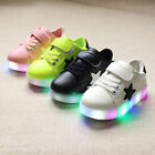 New Children Kids Boys Girls Luminous Sneakers Running Shoes Light Up Sneakers