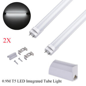 2x 3ft 14w T5 90cm Dimmable Integrated