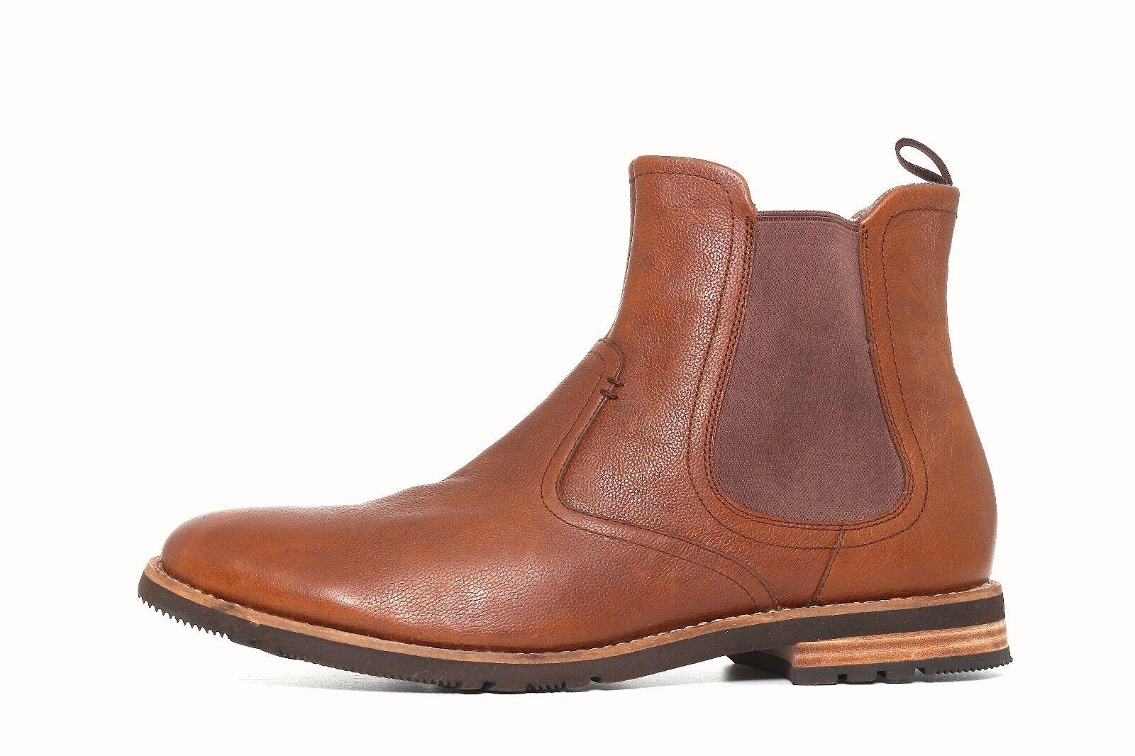 Rockport Brown Pelle Uomo  Chelsea Boot Size 11M   Uomo 3361 d1e2e1