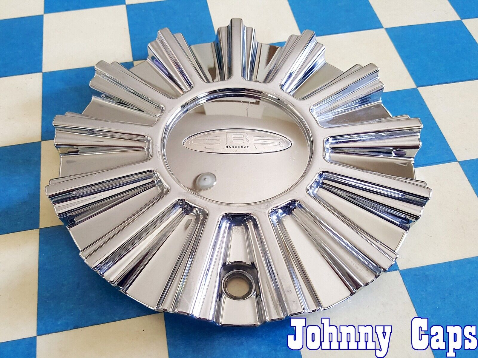 Baccarat Wheels C101160C02 MCD1579YA03 Chrome Wheel Center Cap