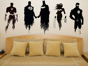 Wonder Woman Wall Art justice league batman superman flash wonder woman decal wall art
