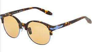 ASTON-MARTIN-Tortoiseshell-Round-Sunglasses-Mens