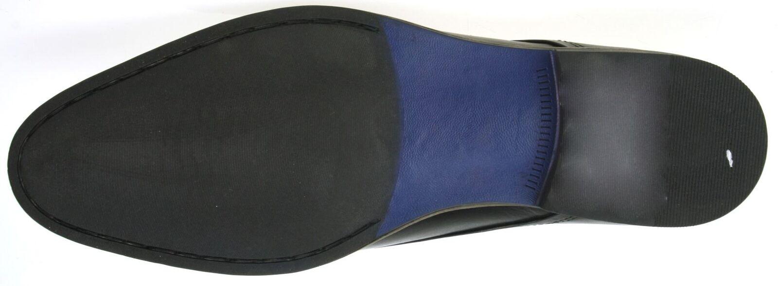 Red Tape Shannon Bordeaux Braun Braun Braun Schnürschuhe runde Spitz Leder e985f1