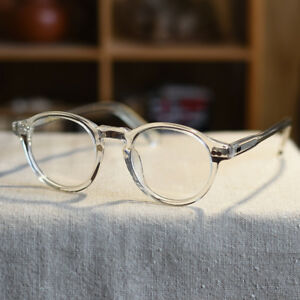 3239ed26611 Image is loading Vintage-italy-Acetate-John-Lennon-eyeglasses-mens-crystal-