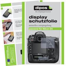 2x Nikon D4 Film de protection d'écran protecteur antireflet