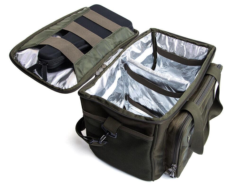 SONIK SK-TEK COOL BAG MEDIUM SIZE CARP FISHING FOOD BAG INSULATED CARRYALL