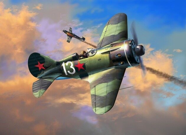 Revell 03914 Polikarpov I-16 Type 24 'RATA'  Aircraft Kit - 1 32 Scale T48 Post