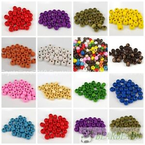 100pcs-Round-Wood-Ball-Spacer-Loose-Beads-4mm-6mm-8mm-10mm-12mm-14mm-16mm-Pick