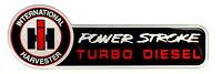 Ih International Harvester Powerstroke Ford Truck Fender Emblem