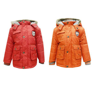 1aba2141b Baby Boys Dunnes Parka Padded Jacket Lined Winter Coat 6 9 12 Months ...
