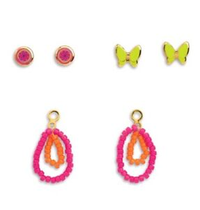 American-Girl-Doll-Lea-039-s-EARRINGS-SET-good-for-18-034-Dolls-Lea-039-s-Accessories-NEW