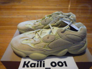 3a2a35cecc4aa Adidas Yeezy 500 Size 11.5 Super Moon Yellow DB2966 Utility Black ...