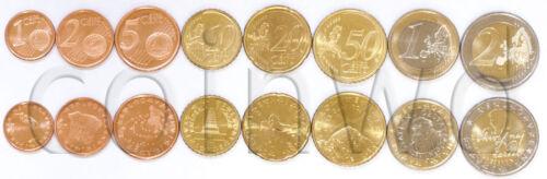 #1411 2 EURO UNC Slovenia 8 coins set 2007 1 C