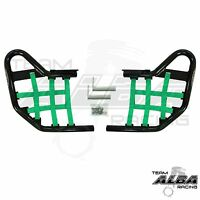 Honda Trx 300ex Nerf Bars Alba Racing Black Green 255 T1 Bg