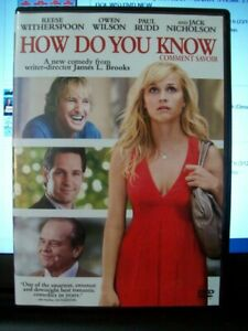 How-do-you-know-Comment-savoir-2010-James-L-Brooks-DVD-like-new