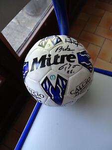 BALLON FOOTBALL RAEC MONS JUPILER LEAGUE BELGIQUE SIGNE MITRE 2000-2001 mDiPjOVE-07150729-995102056
