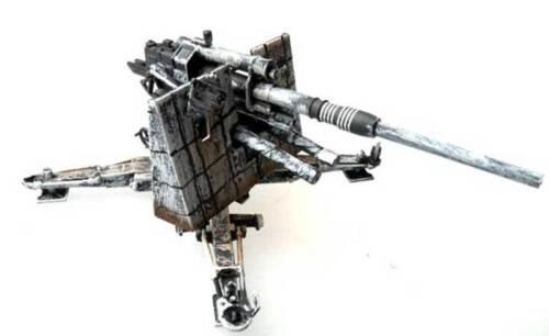 Panzerstahl 8,8cm Flak 36 Stalingrad 1942-1:72 Fertigmodell inclusive case NEU