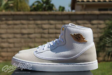 NIKE AIR JORDAN JASMINE GG SZ 7 Y WHITE METALLIC GOLD WHITE 768927 109