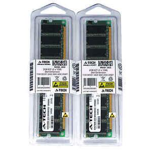 2GB-Kit-2-x-1GB-for-DELL-DIMENSION-1100-DE051-2400-3000-4550-4590T-Memory-RAM