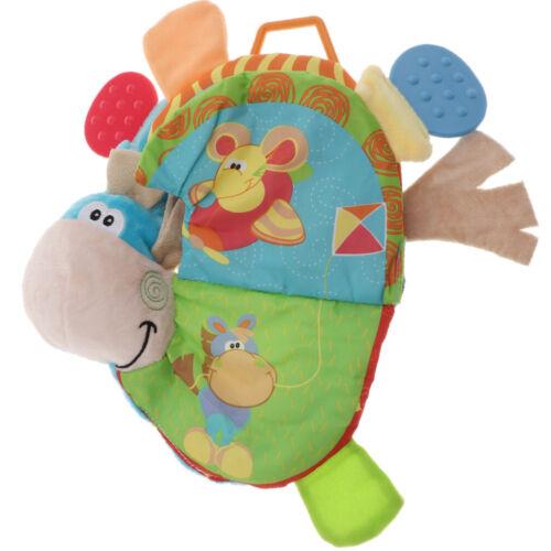 Non Toxic Soft Cloth Buch Soft Activity Book Früherziehung Spielzeug für