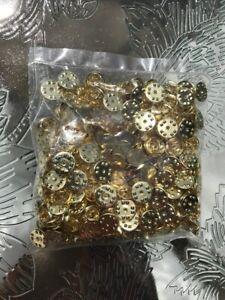 200pcs Gold Plated Eye Pins 22ga 1.5//35mm ~Jewelry Making~